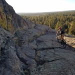 Testing the new Aldo Leopold trail.