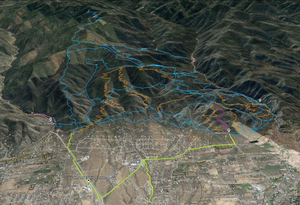 Overview of Talpa Trail Plan